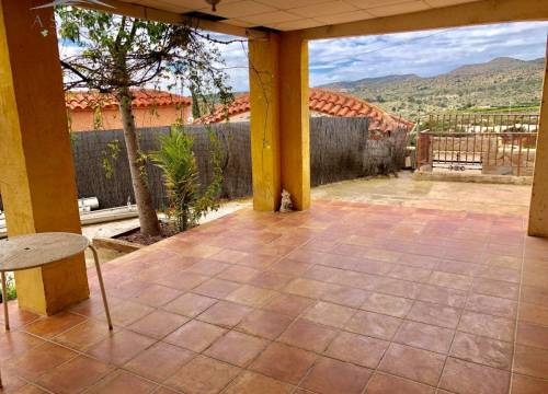 Villa - Re-sale - Aspe pedanias - Montesol